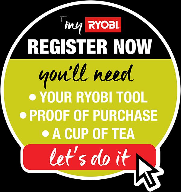 MY RYOBI - RYOBI Powertools